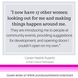 The EDGE Women Experience – Applications due Jan 26