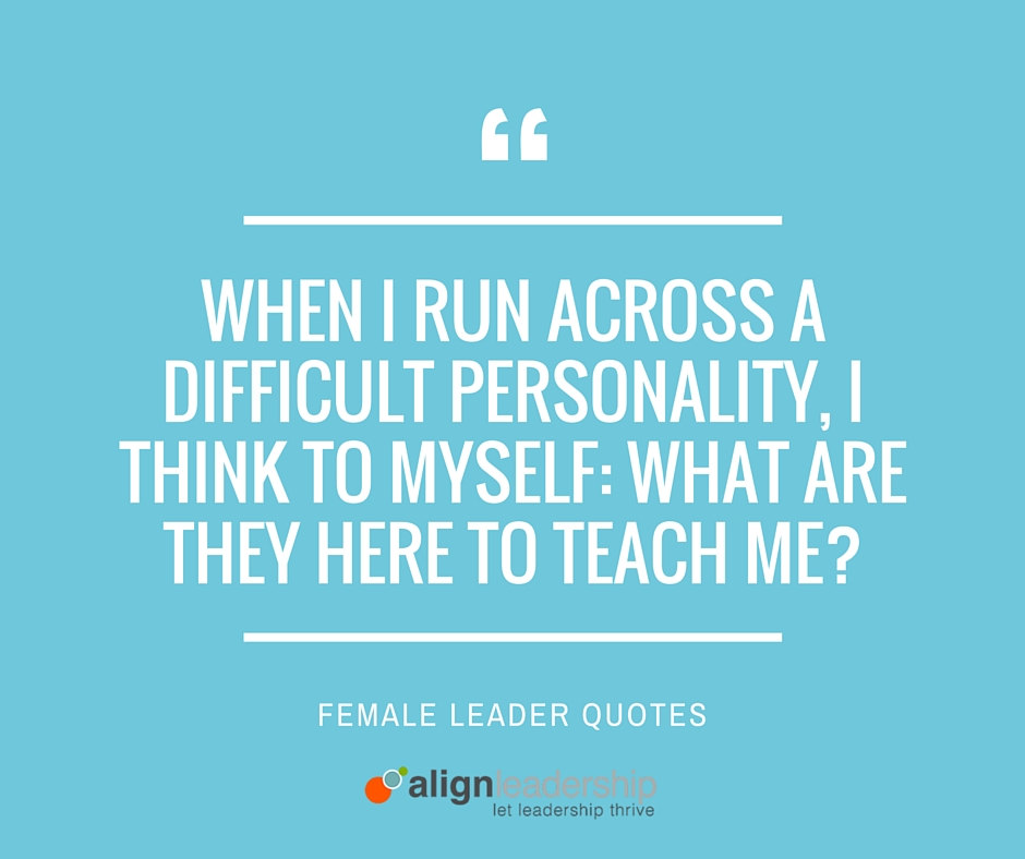 Insight from Women Leaders: How to Deal with a Difficult Personality